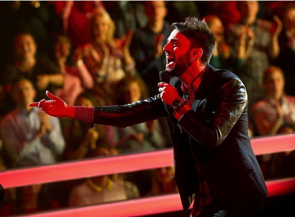 ll talento di Antonello Carozza esplode a The Voice Russia