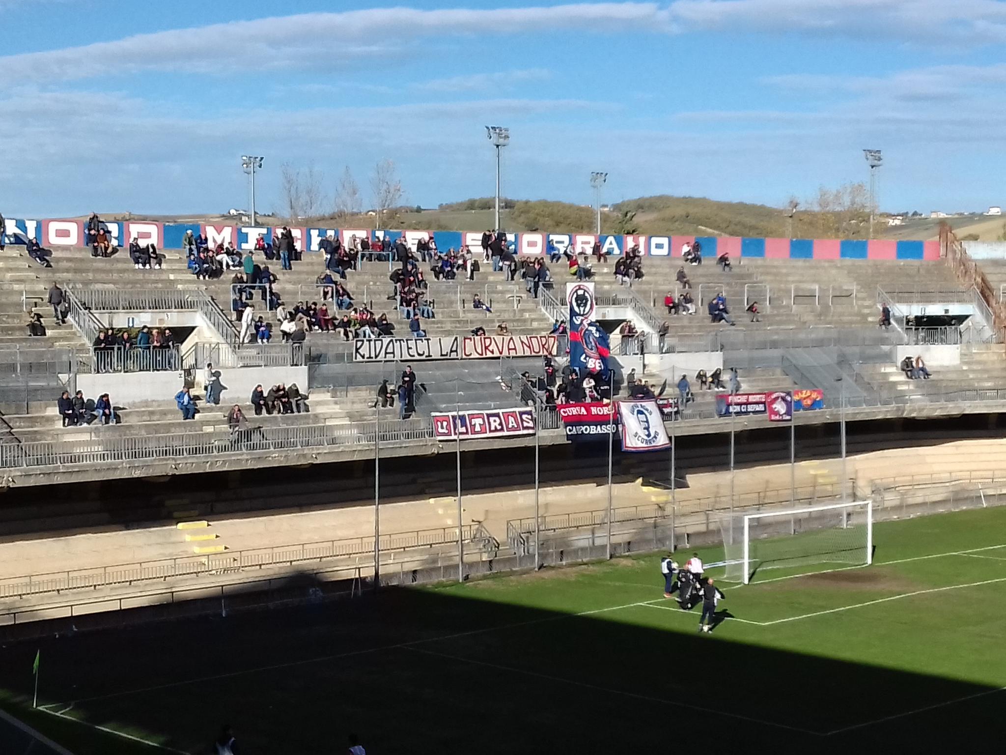 Calcio serie D: Campobasso-Avezzano (la DIRETTA)