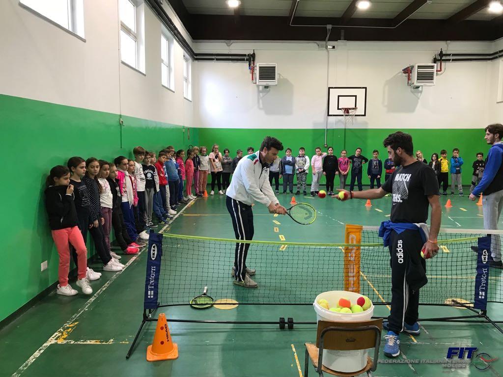 Tennis nelle scuole, prosegue il progetto della Fit Molise