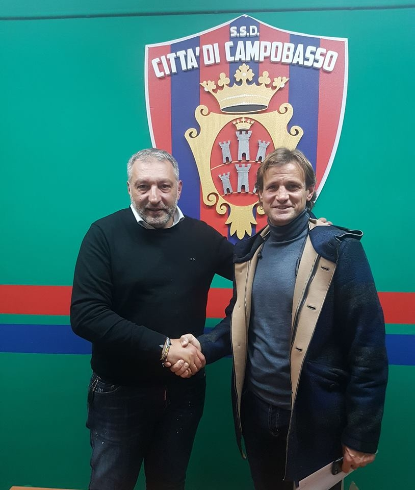 Campobasso. Michele Orabona nuovo direttore sportivo rossoblù
