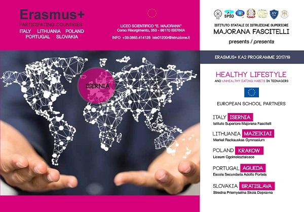 Disturbi alimentari negli adolescenti, si presenta il Progetto Erasmus + KA2