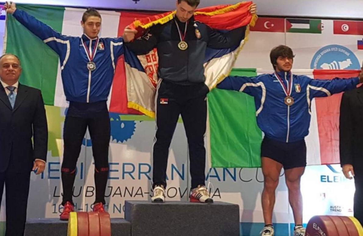 Pesi – Fabio Suliani sul podio a Lubjana