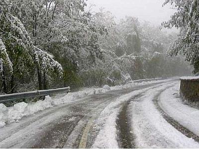 Sterzata artica, previste nevicate a quota collinare nelle prossime ore