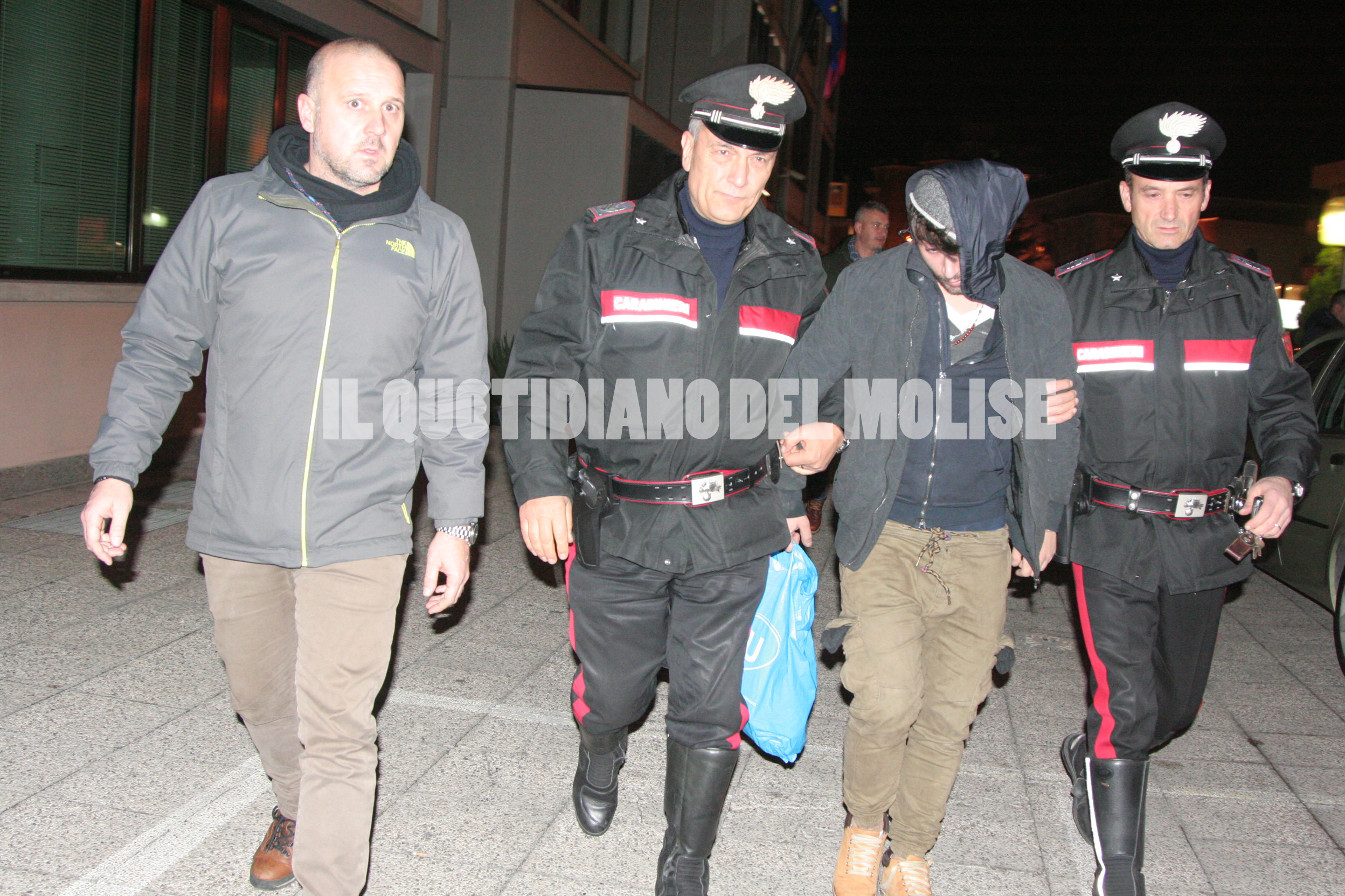 ULTIM'ORA – Topo d'appartamento arrestato in serata a Campobasso