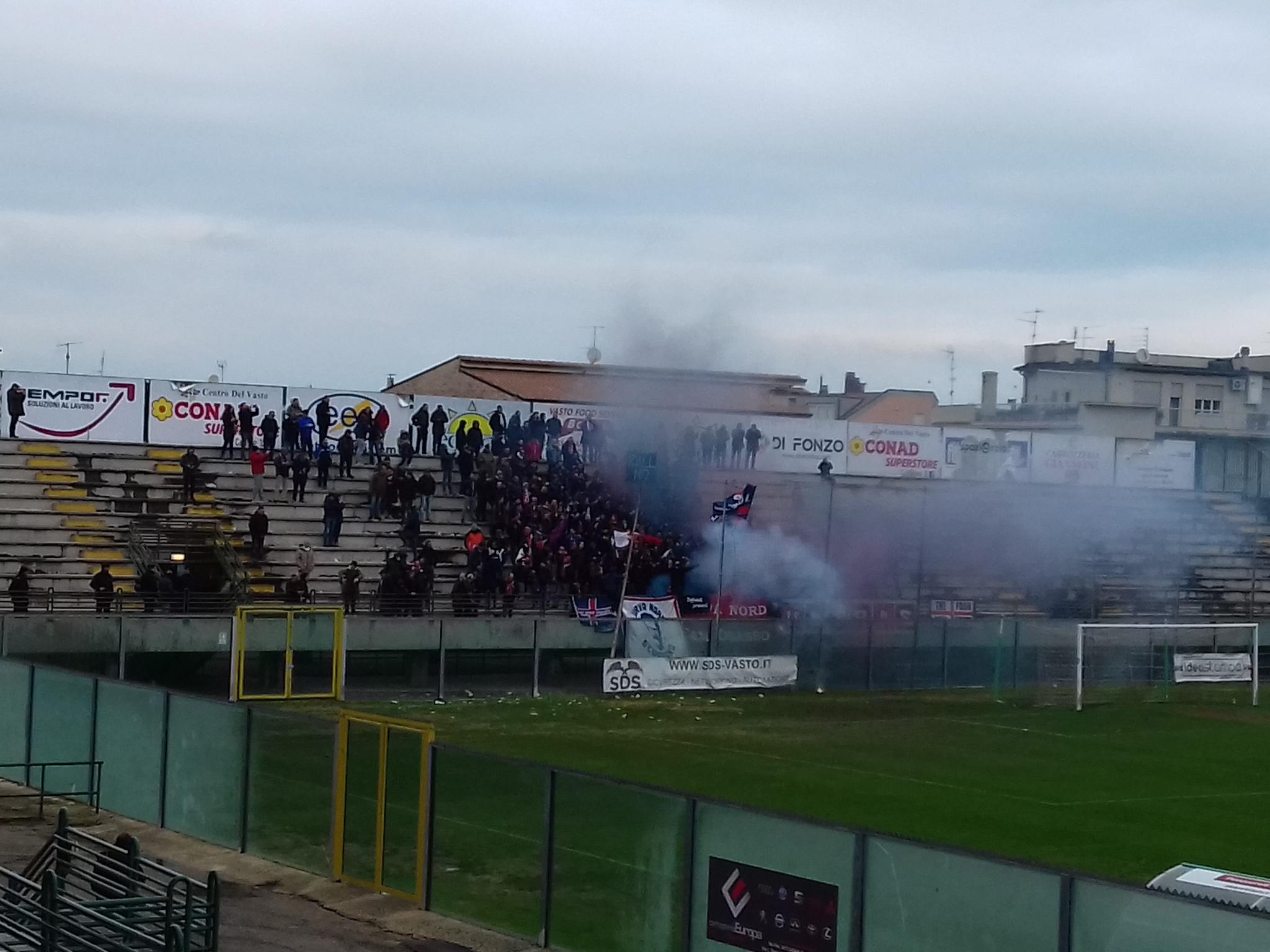Calcio, serie D: Vastese – Campobasso (LA DIRETTA)