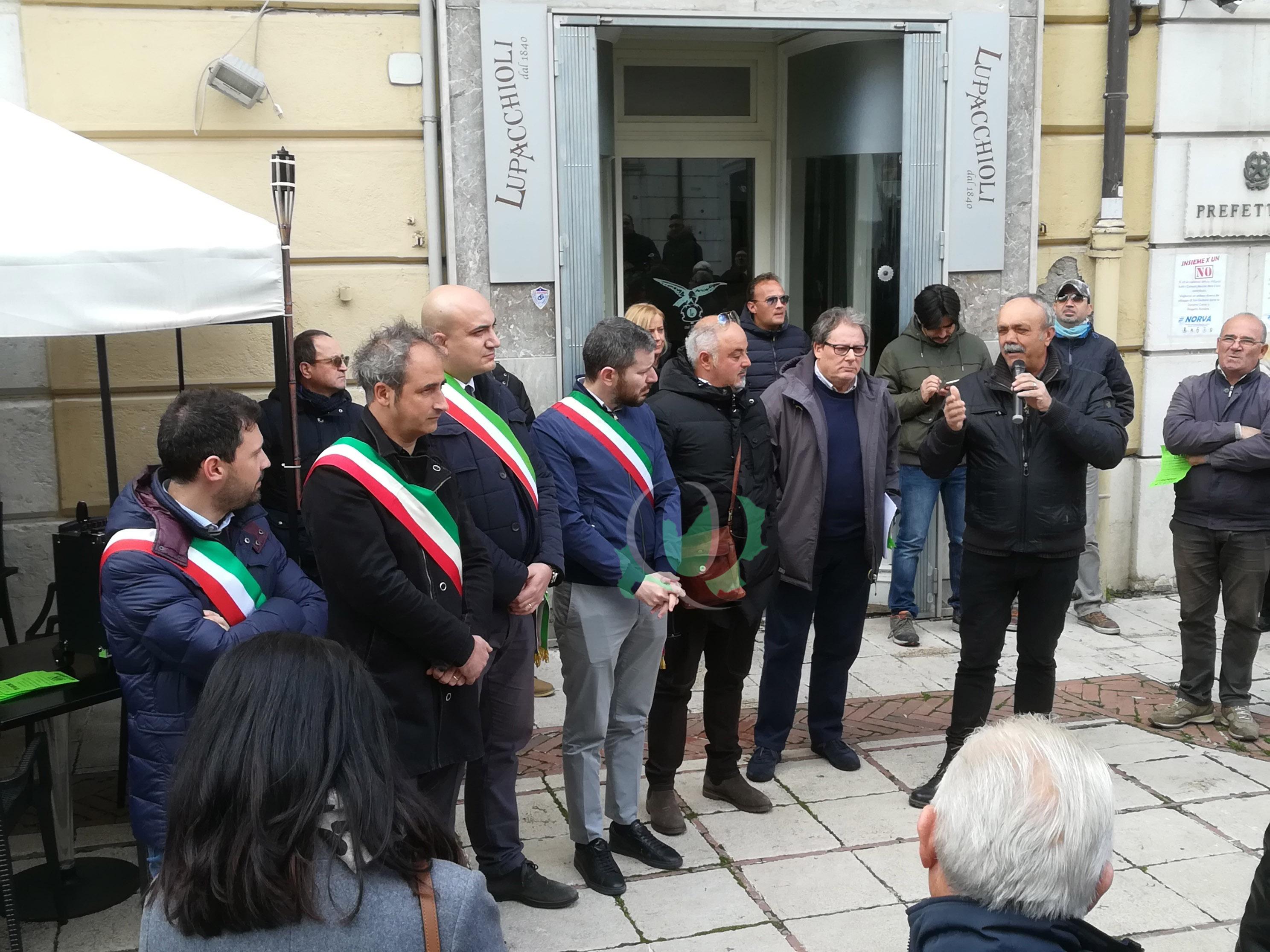 Centro Hub San Giuliano. I sindaci rafforzano la loro posizione e chiedono incontro a Frattura