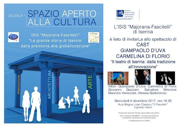 Il teatro isernino in scena al Majorana-Fascitelli