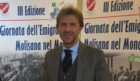 Francesco Giorgino alla terza edizione della Giornata dell'Emigrazione Molisana nel Mondo