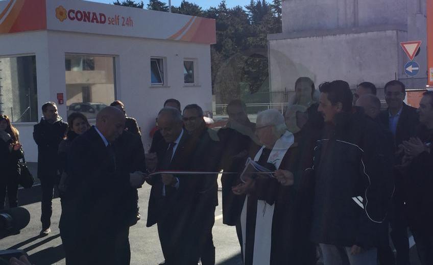 Conad Adriatico, inaugurato il primo centro carburanti in Molise