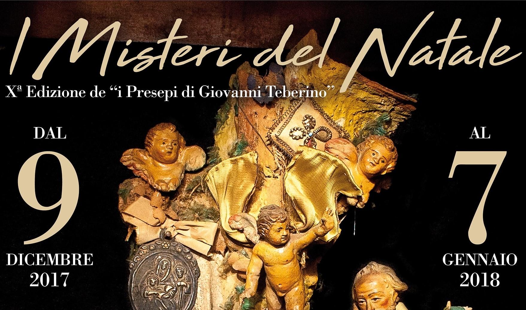 I Presepi di Giovanni Teberino in mostra al Museo dei Misteri tra tradizione e arte sacra