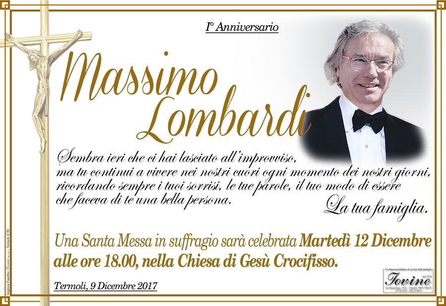 Anniversario Massimo Lombardi – Termoli