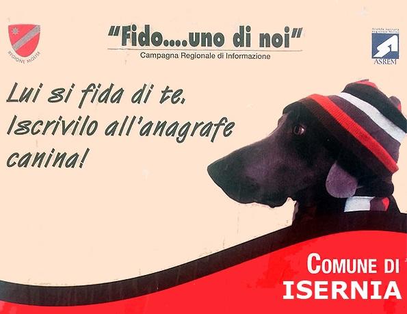 Isernia, giornata di iscrizione gratuita all'Anagrafe Canina