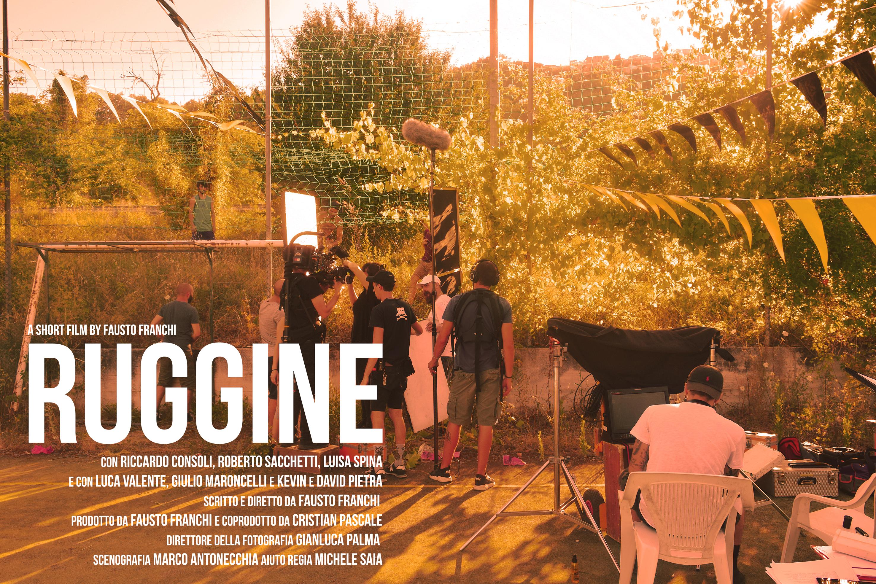 Il corto 'Ruggine' del regista molisano Fausto Franchi pronto per i festival europei