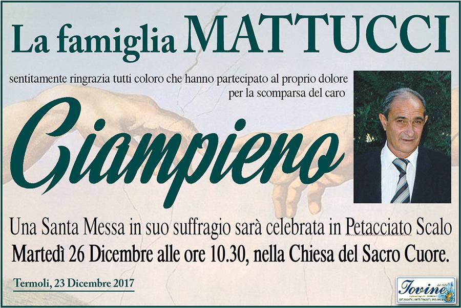Ringraziamento Famiglia Mattucci – Termoli
