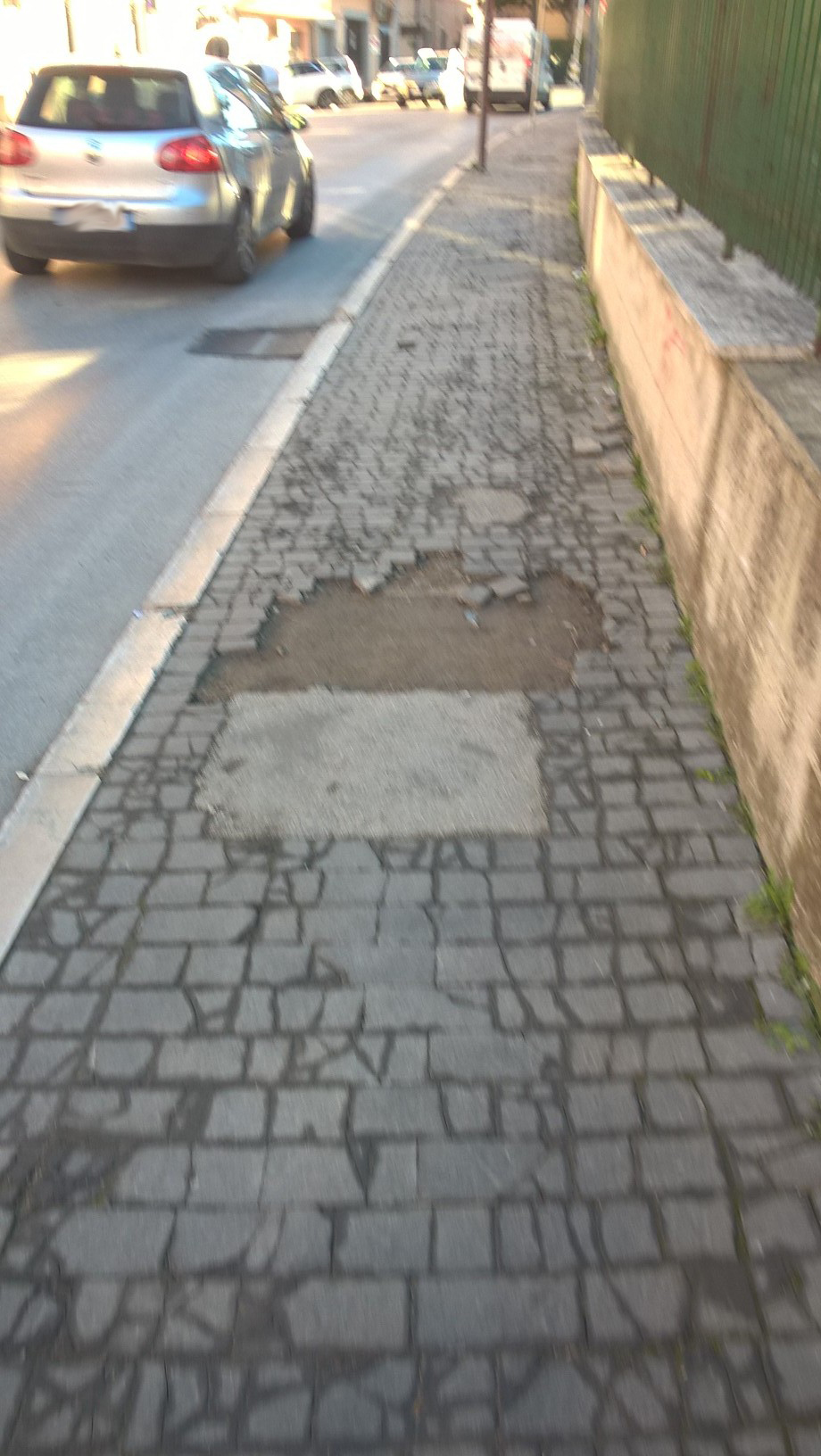 Strade e marciapiedi, si accelera