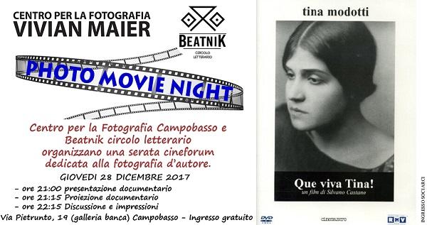 La fotografia incontra il cinema d'autore: appuntamento con 'Que viva Tina'
