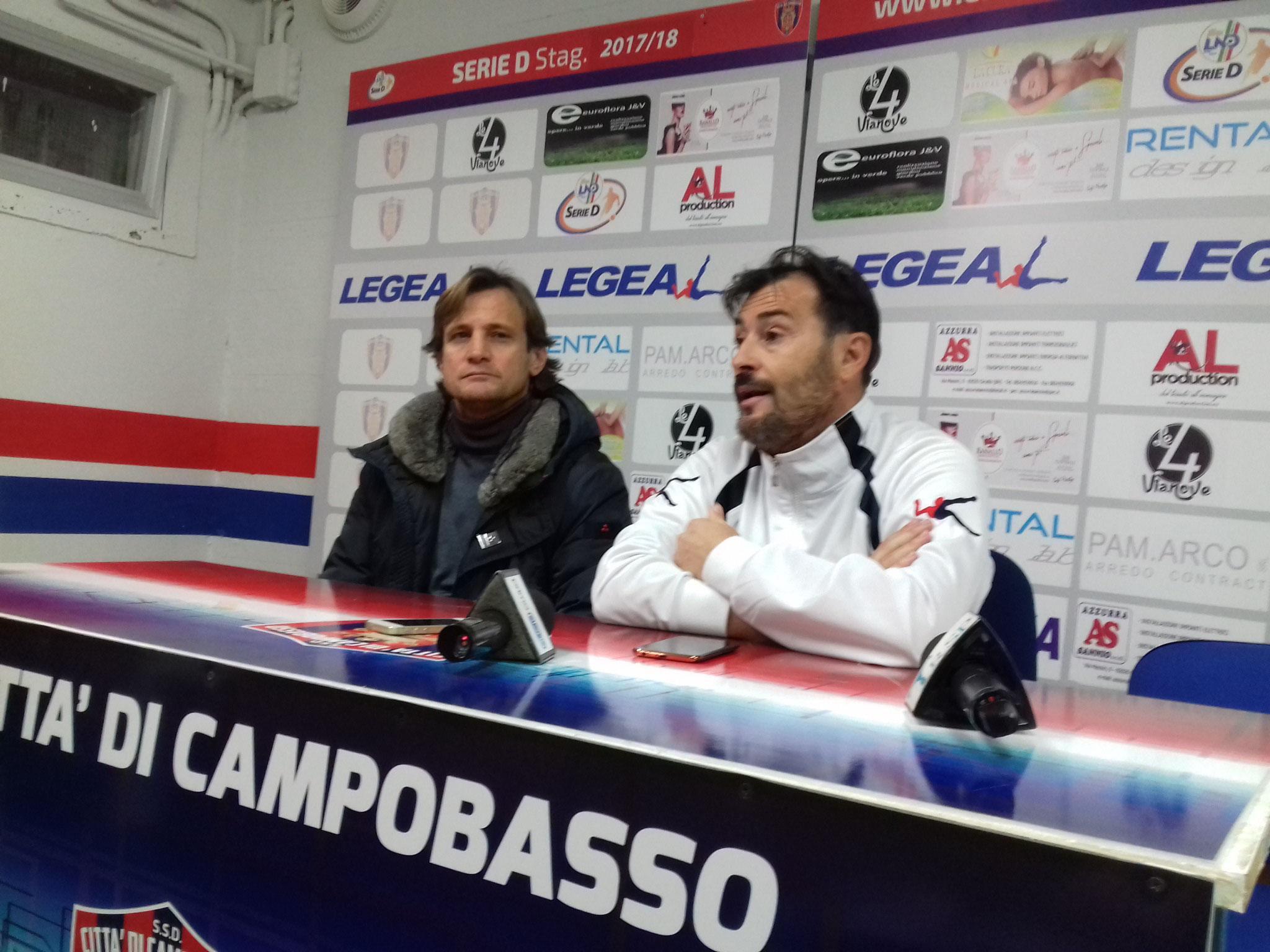 Si separano le strade tra il direttore sportivo Orabona e il Campobasso