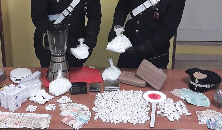 Ricercato per traffico di droga, pregiudicato arrestato dai Carabinieri