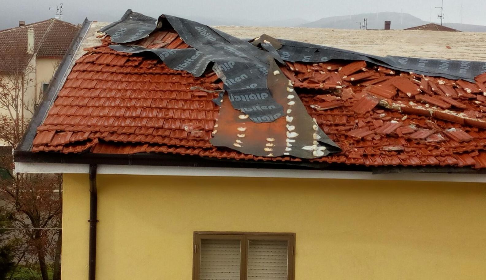 Ancora danni per vento forte in basso Molise