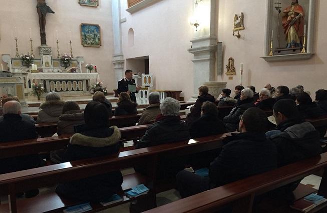 Prevenire le truffe, continuano gli incontri dei Carabinieri nelle parrocchie