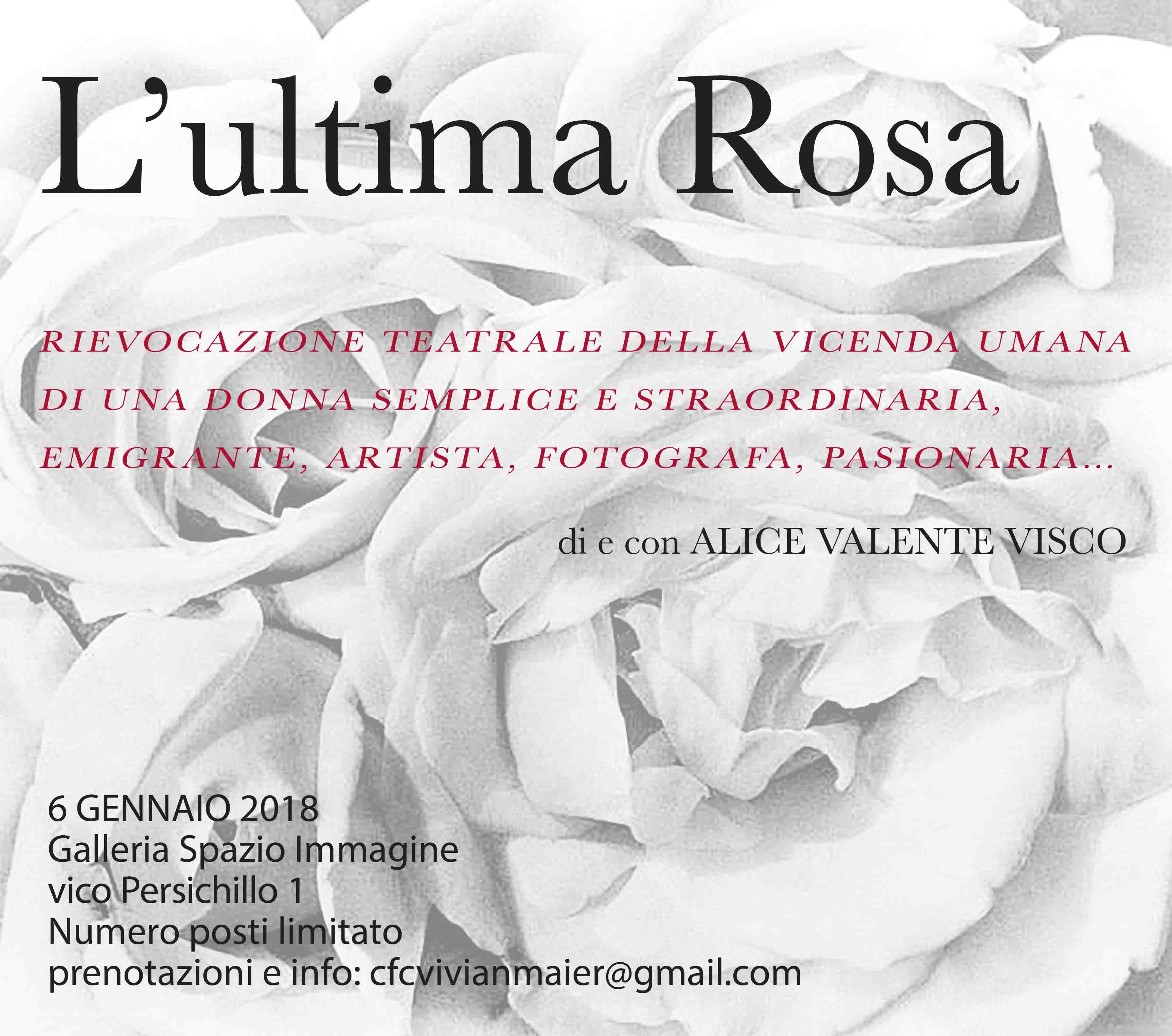 """VIVIAN MAIER – """"L'ultima rosa"""" per Tina Modotti"""