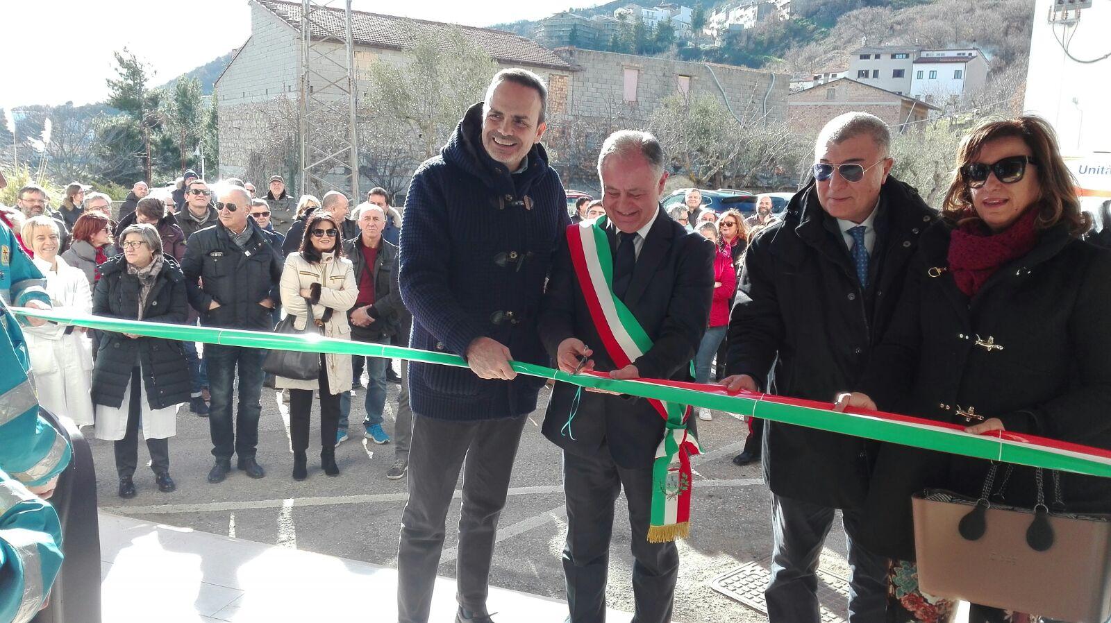 """Inaugurata Casa della Salute a Castelmauro. Frattura:""""Prossimo step, ore necessarie per diabetologia"""""""