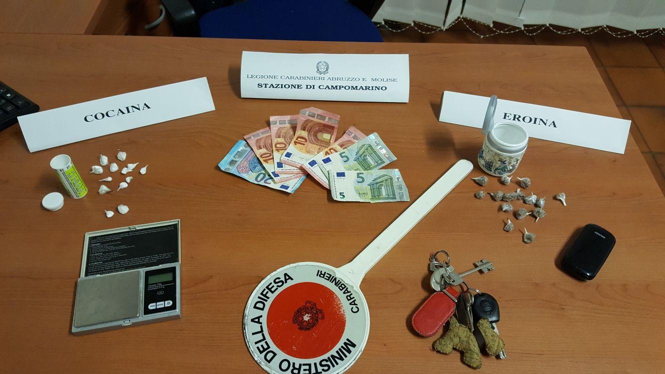 Catanzaro: droga, rapina ed estorsioni a minorenni. 4 arresti