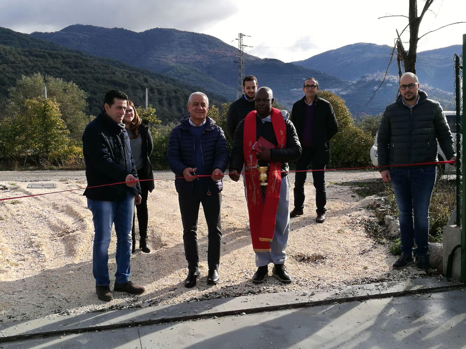 Apre l'isola ecologica a Monteroduni