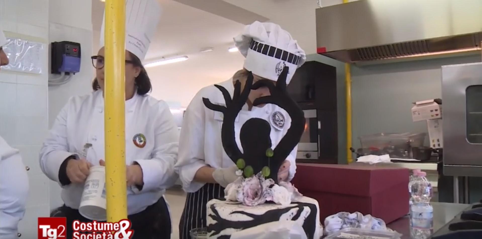 I campionati di pasticceria dell'Alberghiero di Termoli in onda a 'Costume e Società'