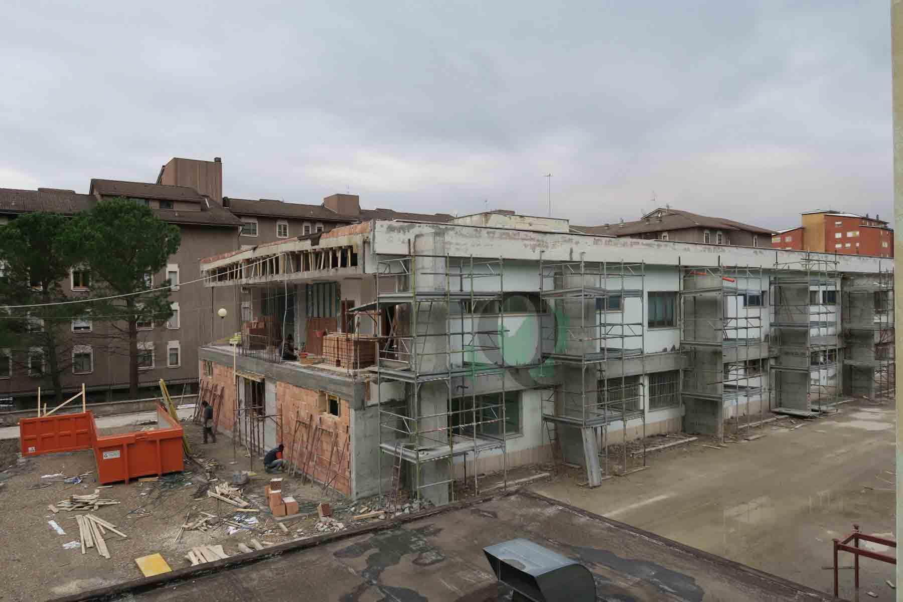 Adeguamento sismico della Don Milani, lavori quasi ultimati