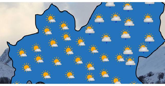 METEO IN MOLISE – Correnti zonali occidentali prevalenti con più freddo domenica