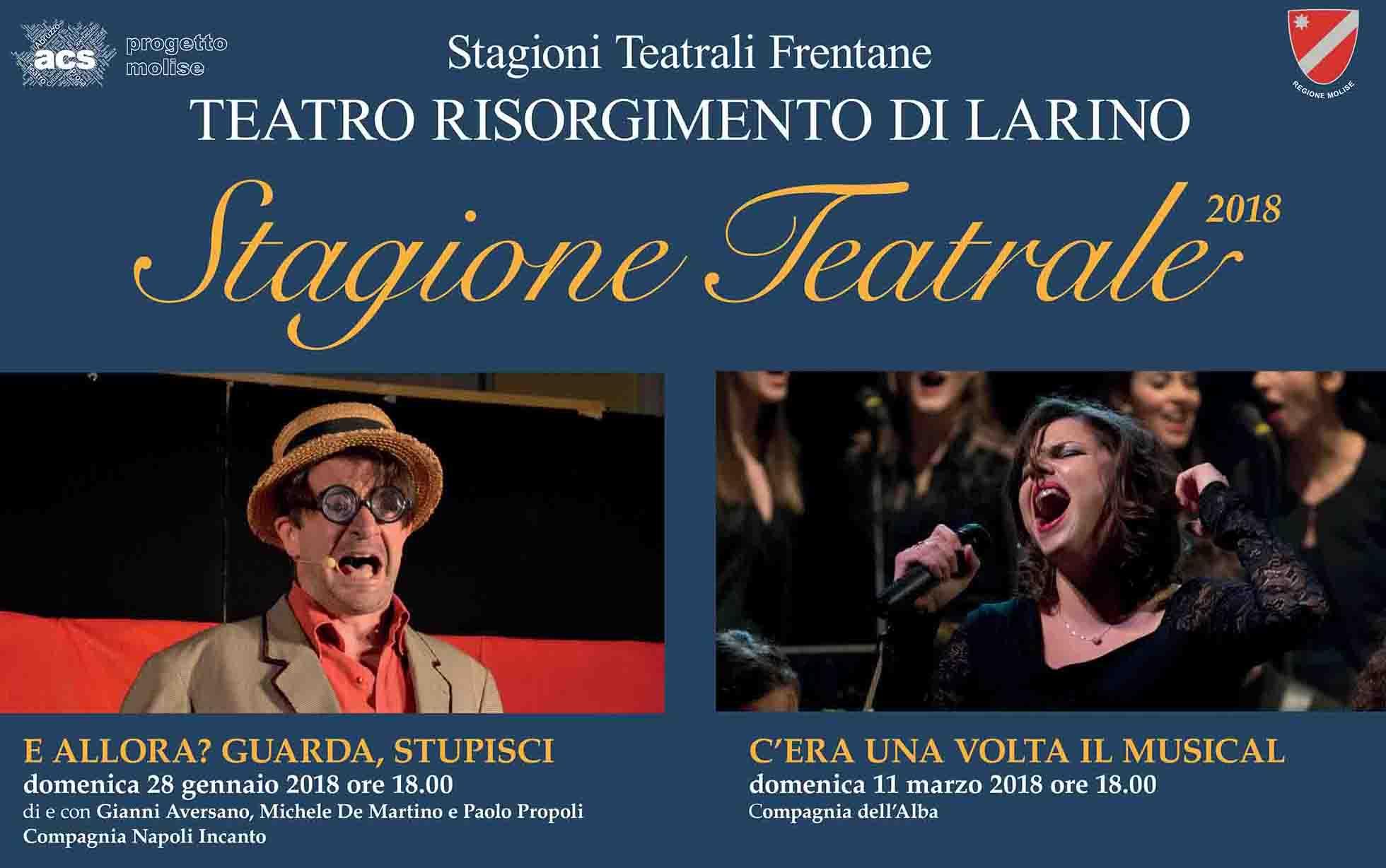 Al via la stagione del Teatro Risorgimento