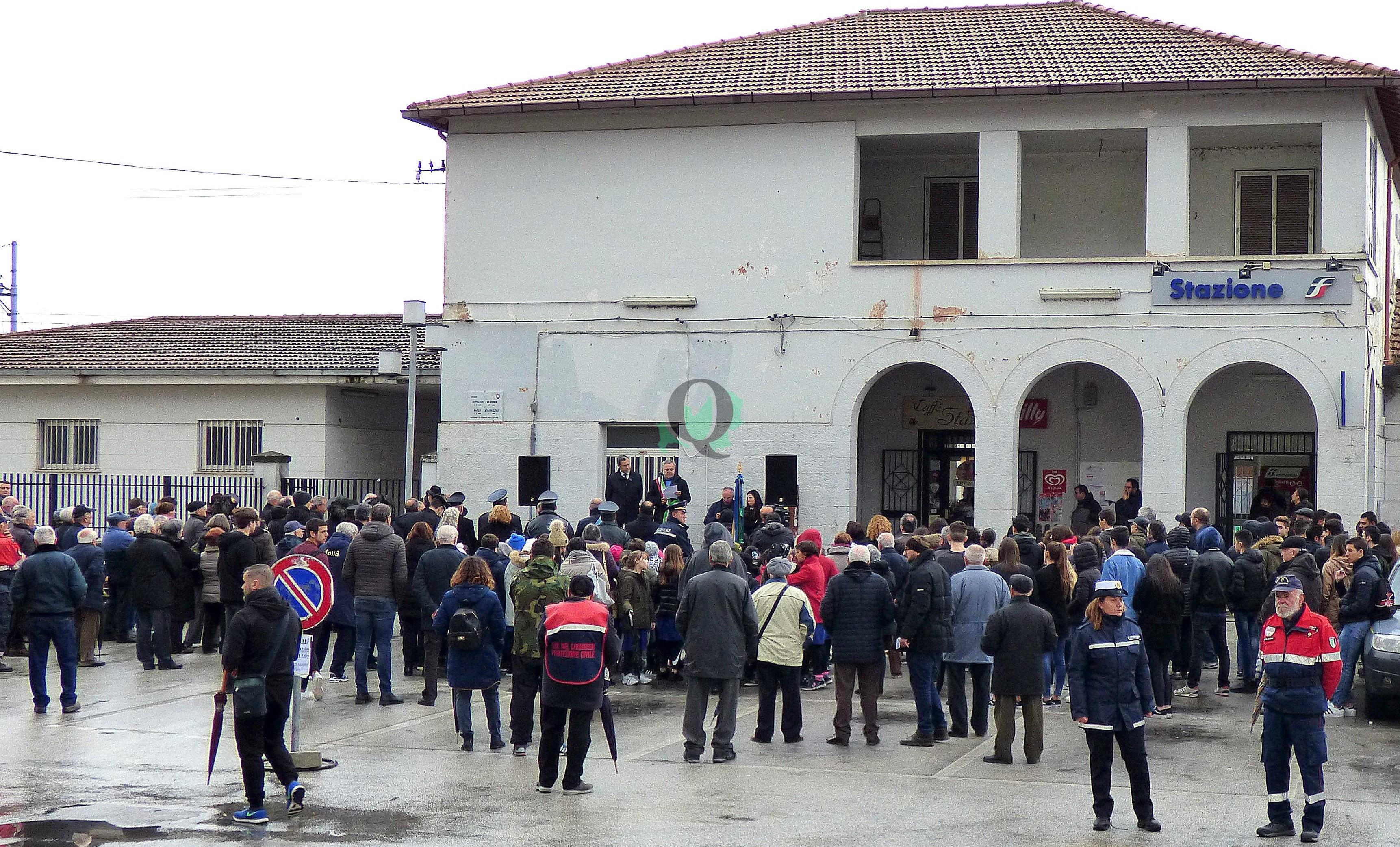 Inaugurata a Venafro la 'Piazza Giovanni Falcone e Paolo Borsellino'