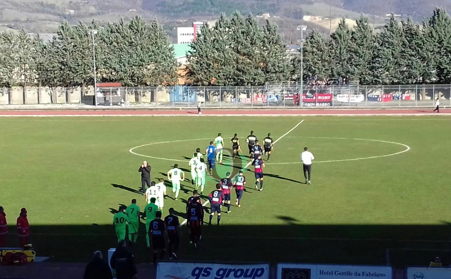 Calcio, serie D: Fabriano Cerreto – Campobasso (LA DIRETTA)