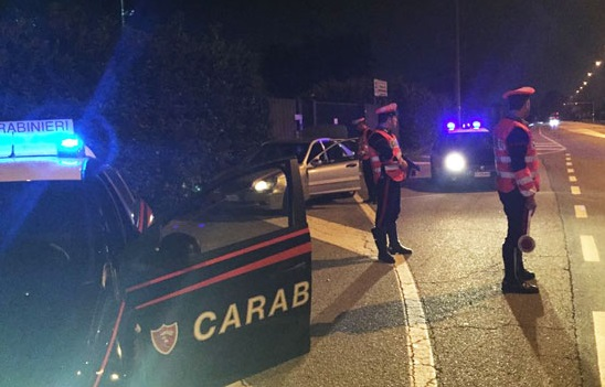 Alla guida ubriaco, patente ritirata e denuncia per un 40enne