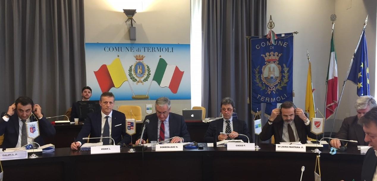 XV assemblea generale Euroregione Adriatico-Ionica. Quasi 90mln per pesca, turismo e collegamenti Molise-Croazia