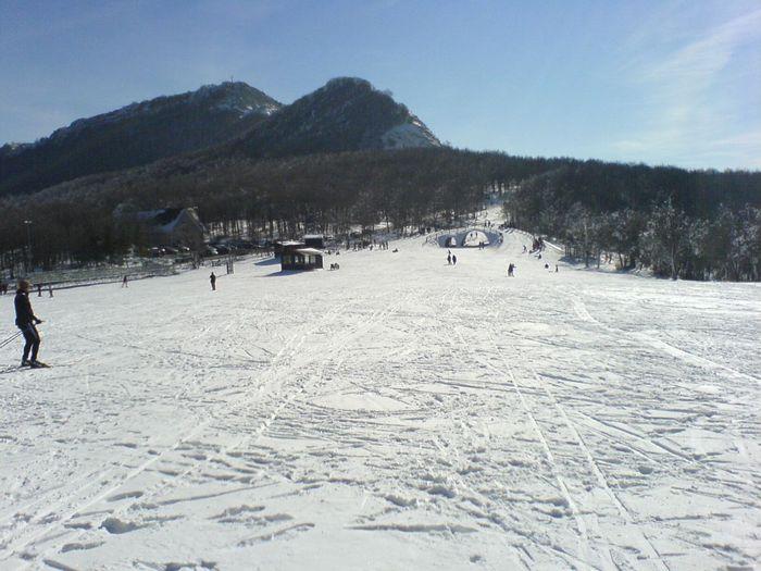 Finalmente gare di slalom gigante sull'appennino molisano