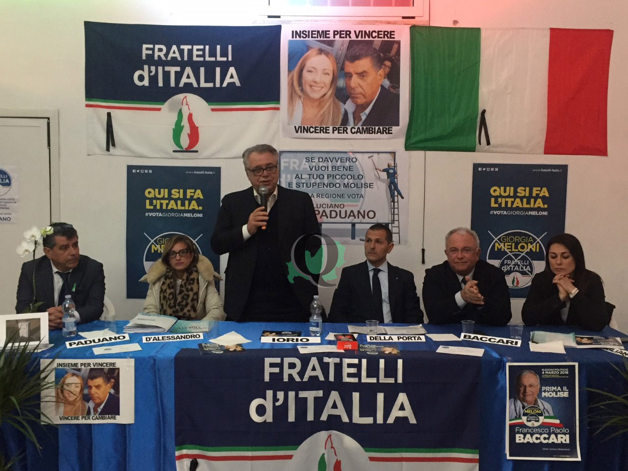 Elezioni. Presentati i candidati di Fratelli d'Italia