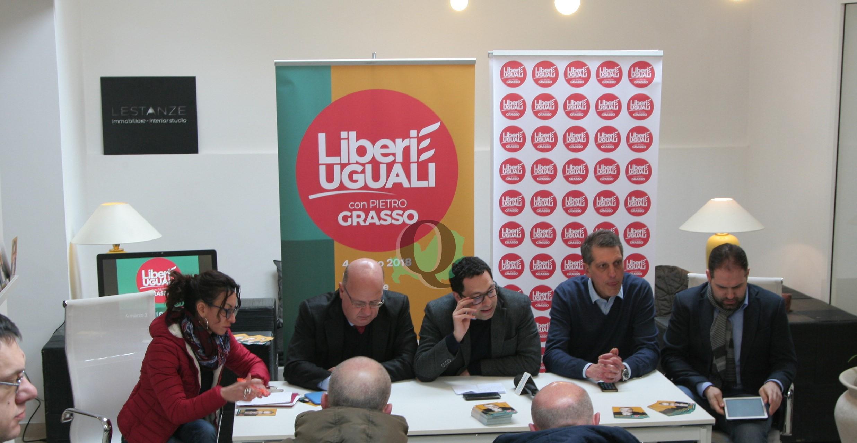 """Liberi e Uguali presenta il programma, Leva: """"Sanità al primo posto"""""""