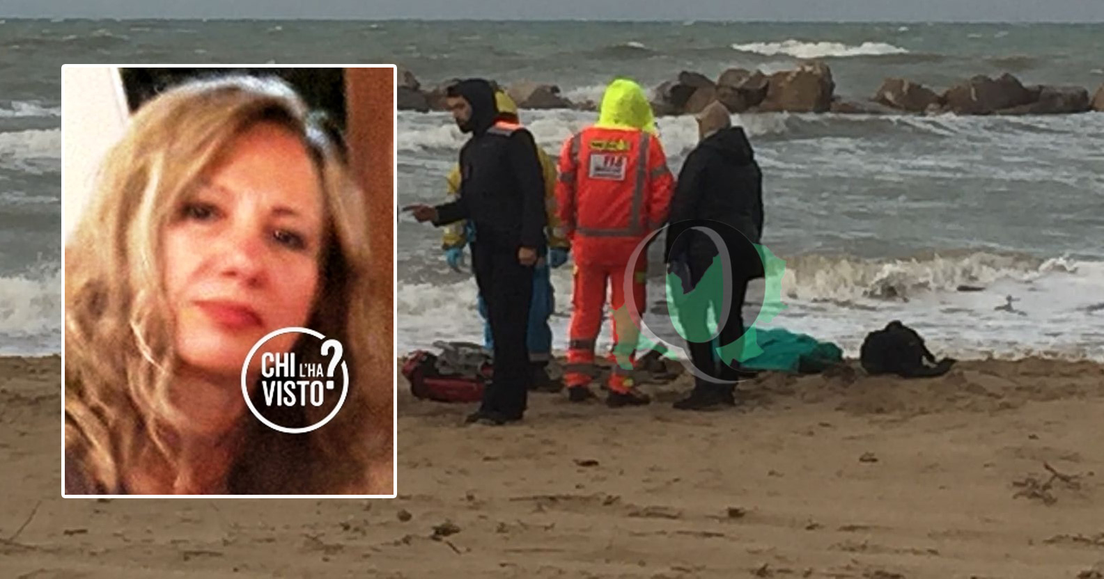 Morta in spiaggia, riconosciuto il cadavere: si tratta di Annamaria Tabiellone