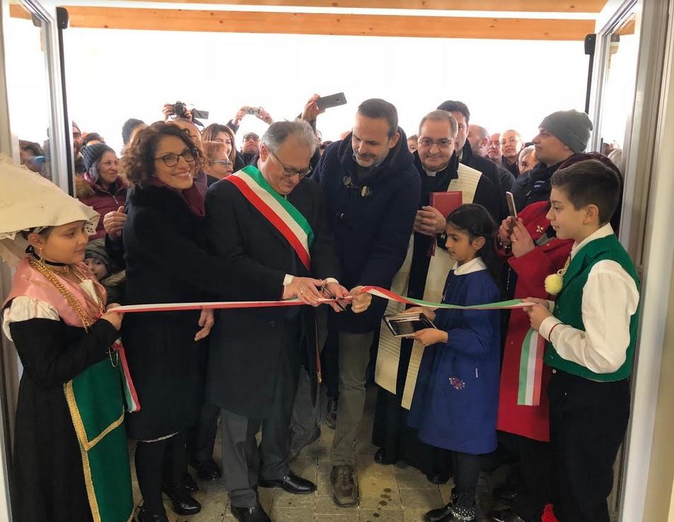 """Inaugurato il nuovo polo scolastico a Bojano, Frattura: """"Un giorno di festa"""""""
