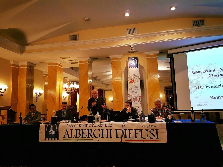 Alberghi Diffusi, Giuseppe Nardone confermato segretario generale dell'associazione