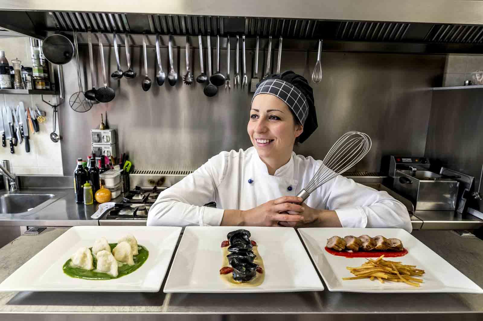 Cuochi d'Italia: grande prova in tv della chef altomolisana Stefania Di Pasquo