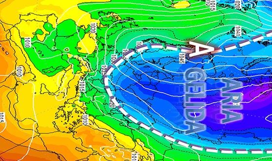 METEO IN MOLISE – Con l'inizio della prossima settimana drastico calo della temperatura e neve in arrivo