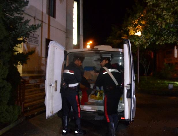 Operazione antidroga dei Carabinieri, sequestrati 200 grammi di hashish
