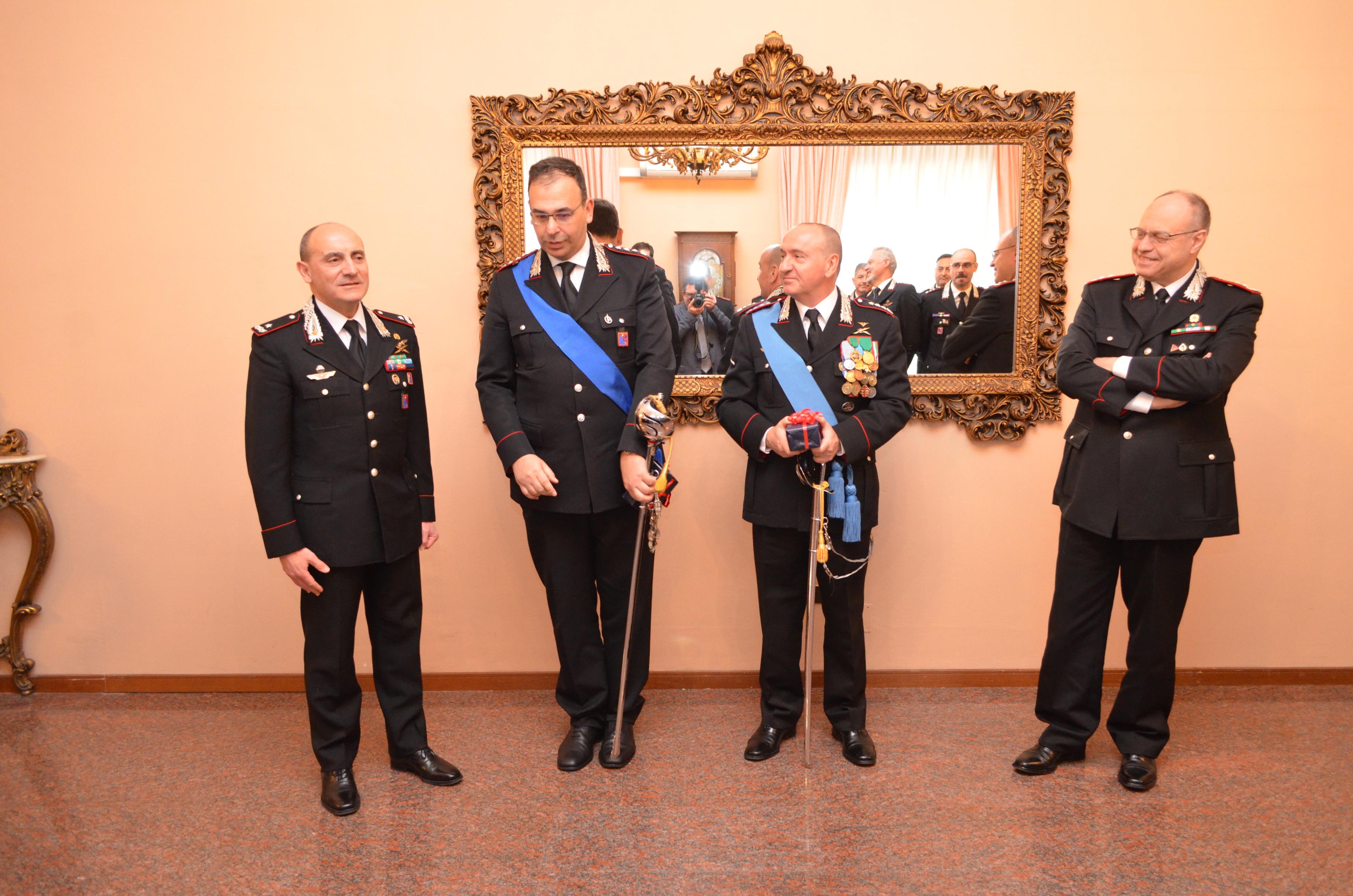 L'Arma promuove i vertici del Comando Provinciale di Campobasso
