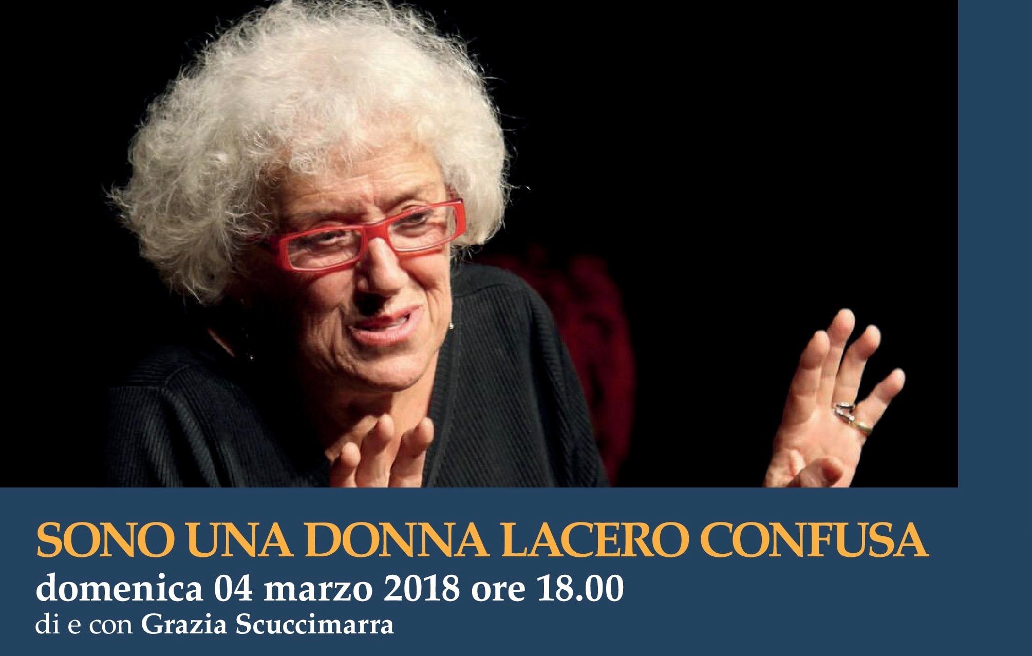 Al Teatro Risorgimento di Larino in scena 'Sono una donna lacero confusa'