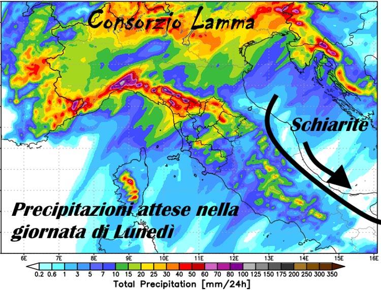 METEO IN MOLISE – Correnti da nord sostituiscono i miti venti da sud
