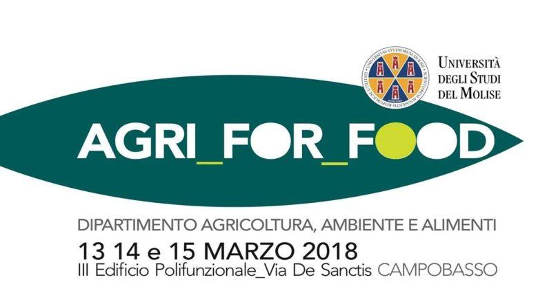 EVENTI – Agri for food, all'Unimol una 'tre giorni' dedicata all'Agricoltura