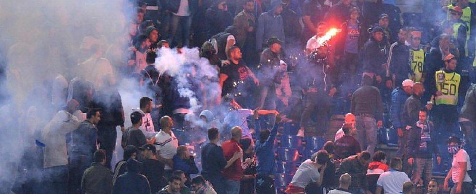 La violenza negli stadi